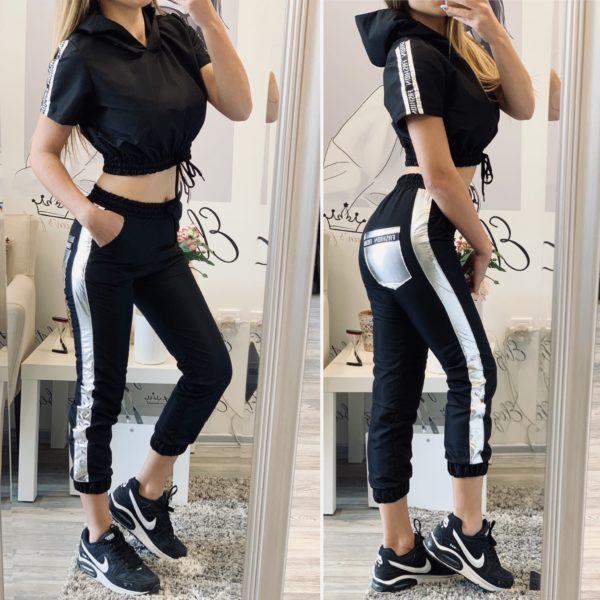 Шушляков комплект в черно и сребристо Fashion елизабет.бг