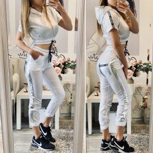 Шушляков комплект в бяло Fashion