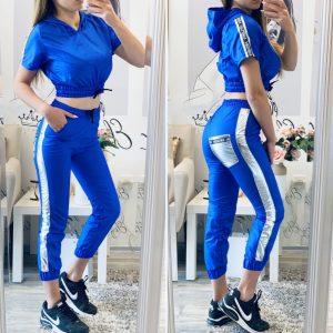 Шушляков комплект в синьо Fashion