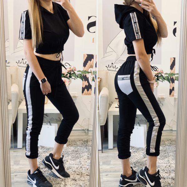 Комплект в черно и бежово Fashion елизабет.бг