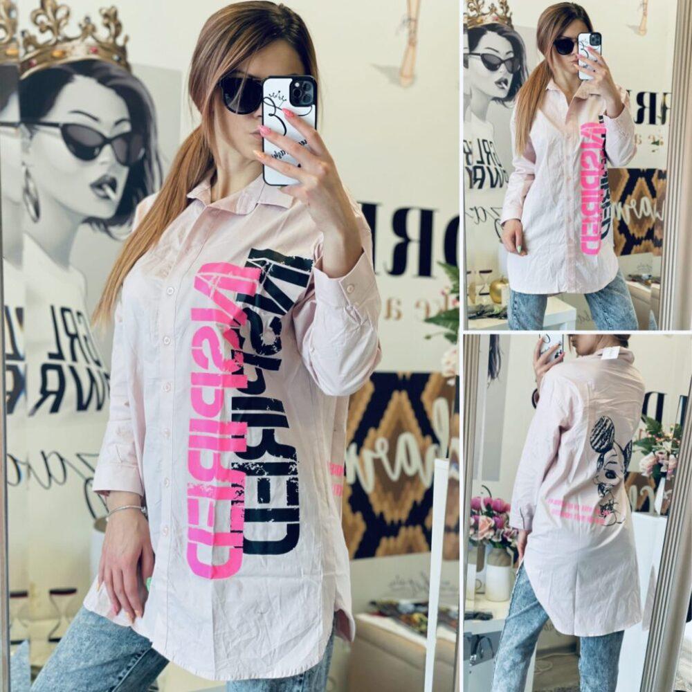 Риза-туника в розово Inspired елизабет