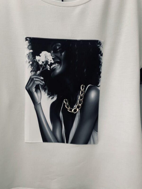 Ризка с Black&White мотиви elizabet queen's fashion